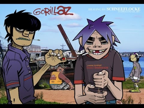 Gorillaz [Compilation of snippets and demos] (part 1)