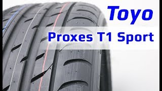TOYO Proxes T1 Sport /// обзор