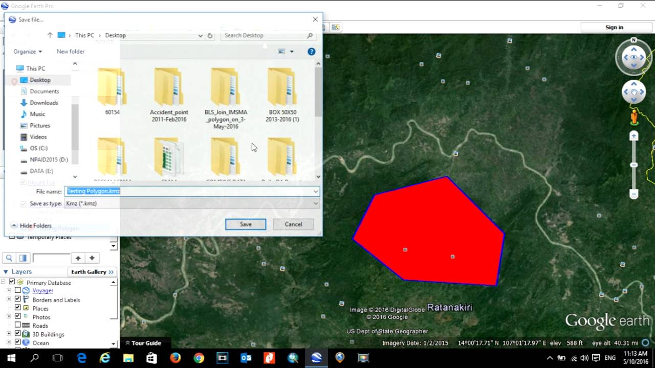 Easy to Import Kml File from Google Earth into ArcGIS as Shapefile