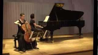 Beethoven cello sonate C-dur op102 I Adagio Allegro vivace  Natalia Osipova