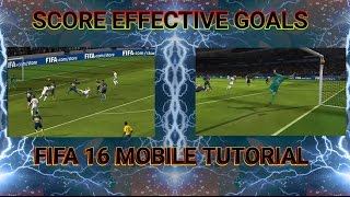 FIFA 16 Tips and Tricks ~ Scoring Goals Easily and Effectively #2 !! Shooting Tutorial !! How Score?