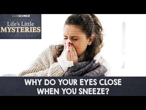 Why Do My Eyes Close When I Sneeze? - YouTube - photo#36