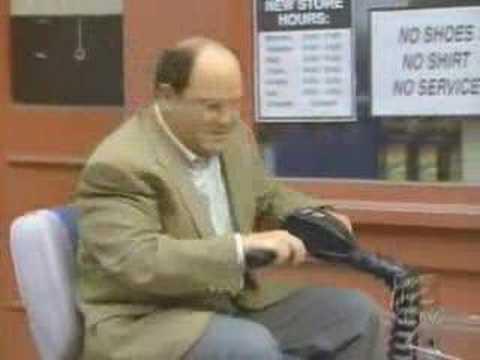 Seinfeld - George vs. The Geriatric Bike Gang
