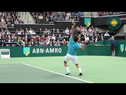 Roger Federer returns to Rotterdam