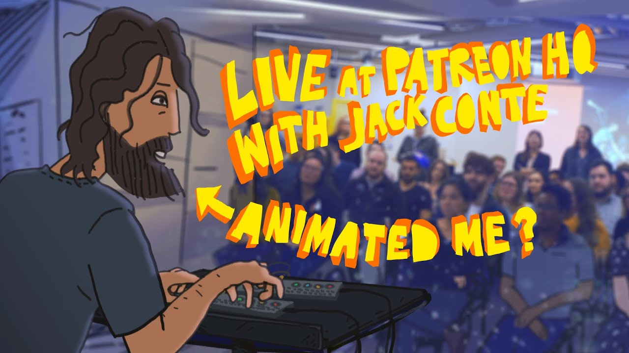 Animated (I messed up the camera) Live Performance Cuckoo + Jack Conte at Patreon HQ January 2020