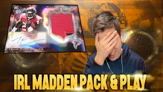 IN REAL LIFE MADDEN PACK & PLAY! Madden 16 Ultimate Team