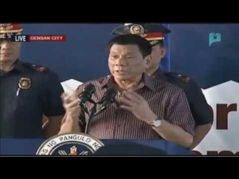 FULL: PRES. DUTERTE BUMISITA SA GENERAL SANTOS POLICE REGIONAL OFFICE