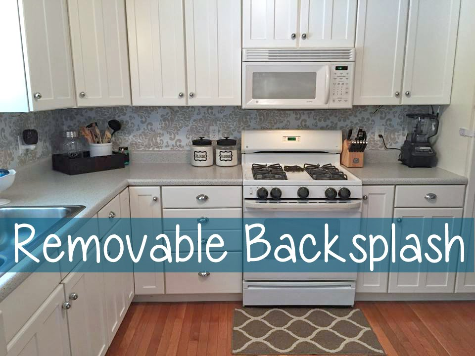 Removable Back Splash | #98 - YouTube