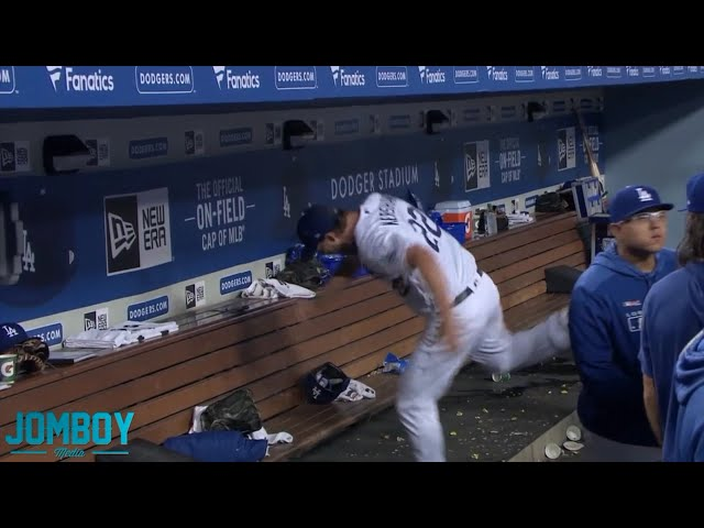 Clayton Kershaw gets pulled in the 5th and is not happy about it, a breakdown