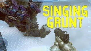 Halo 5: Guardians - Singing Grunt Easter Egg! (Location & Hidden skull)