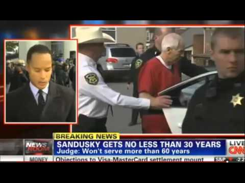 Jerry Sandusky SENTENCED to 30-60 Years in Prison for Child Abuse.mp4