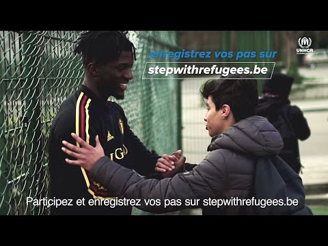 Nous soutenons #StepWithRefugees