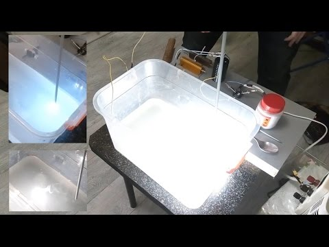 Aluminium melting by plasma electrolysis of water.PART1(is this cold fusion?transmutation Al in Si?)