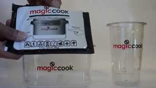 Shark Tank New Innovated Product. Magic Cook Camping Cookware, Survival Kits Lunch Box / Bottle Cup