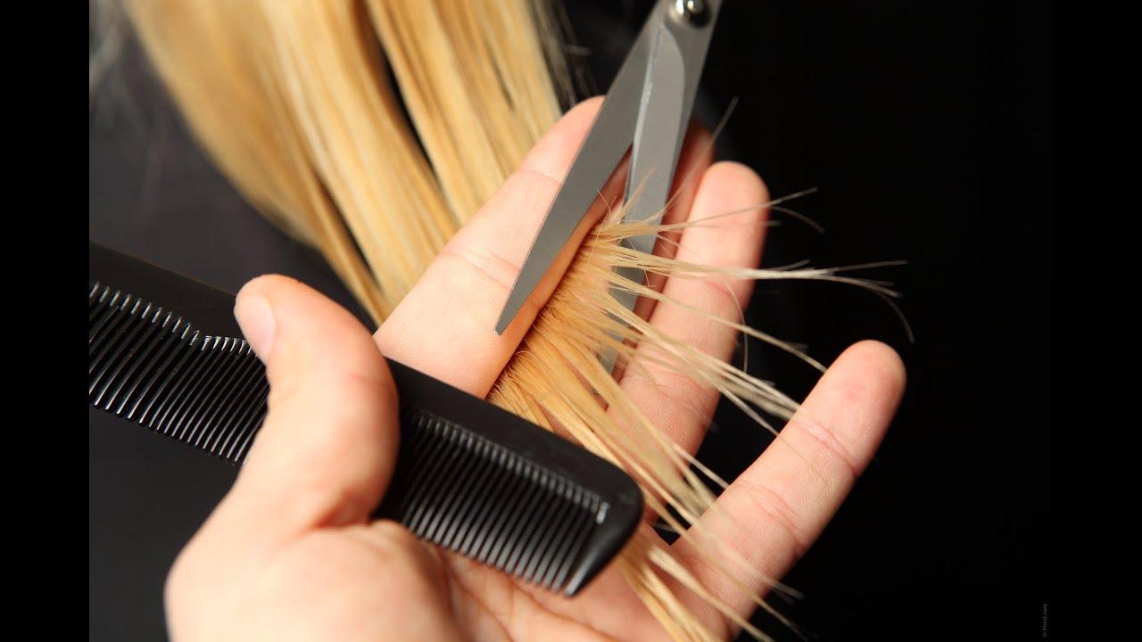 Couper les pointes des cheveux bienfaits
