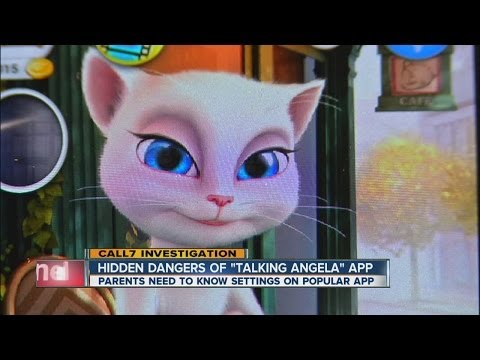 Parents and kids fear 'Talking Angela' app