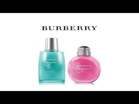 43ae462b96 Burberry - Burberry Summer 2013 Fragrance Collection - YouTube