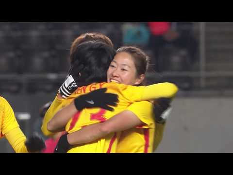 KOREA REP. - CHINA PR Highlights (Women's) | EAFF E-1 Football Championship 2017 Final Japan