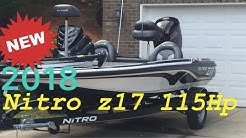 2018 NITRO Z17 **New Boat**