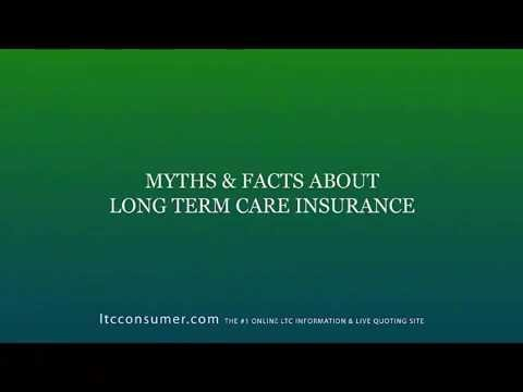 Myths and Facts About Long Term Care Insurance