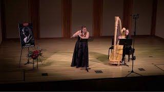 08 Antonina Styczen- Sonata No.1 for flute & harp, II. Andante  J.M. Damase
