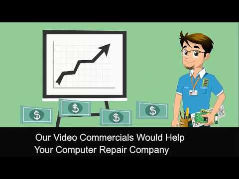 Marketing a Computer Repair Business: Computer Repair Sales Video