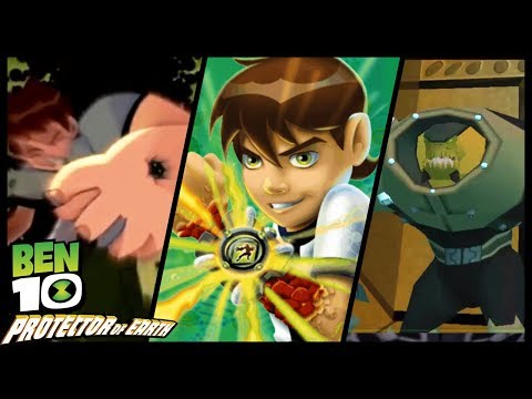 Ben 10: Protector of Earth Walkthrough Part 17 (Wii, PS2, PSP) Level 21 : Washington D.C