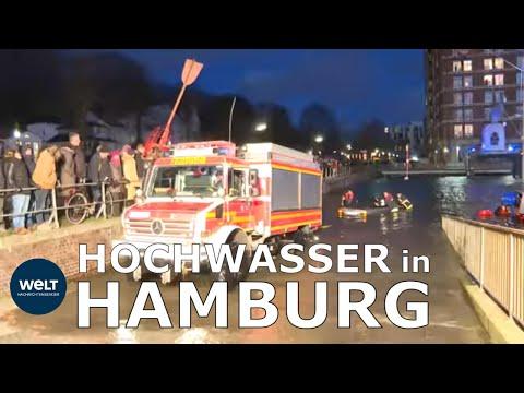 """LAND UNTER IN HAMBURG: """"Das Wasser kam schneller als erwartet"""""""