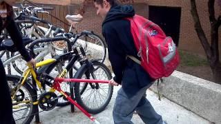 How To Break A U-lock