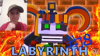 "Goober Reacts # 18 | FNAF 6 MINECRAFT ANIMATION ""Labyrinth"" Music Video By AndyBFFT"