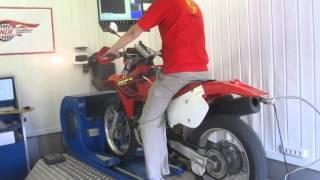 Honda XR650R Dyno