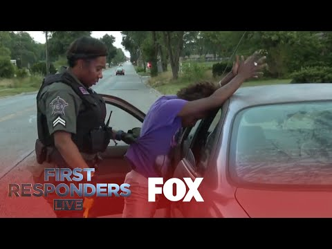 Officers Pull Over Crack Addicts | Season 1 Ep. 9 | FIRST RESPONDERS LIVE