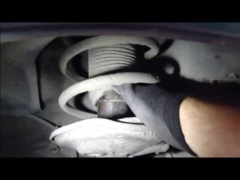 How to notice broken or damaged shock absorber. Toyota ...
