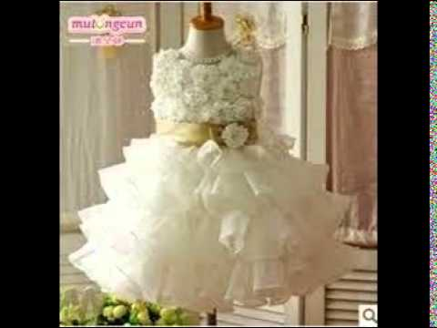 Baby Girl Dresses Party Wear - YouTube