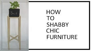 Diy Shabby Chic Furniture Annie Sloan Dark Wax With Full Tutorial
