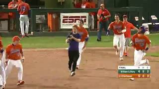 Clemson Baseball || William & Mary Game Highlights - 2/16/18