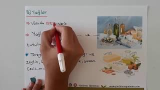 4 Sınıf Fen ve Teknoloji Besinler ve Özellikleri 1-Yardımcı Öğretmen