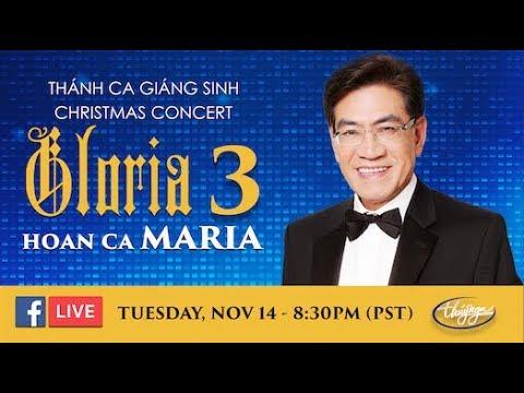 Livestream với Nhà Văn Nguyễn Ngọc Ngạn - nói về Gloria 3 Hoan Ca Maria