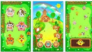 Let's Play • Farm for kids • Farma dla dzieci, Nauka, Zwierzątka hodowlane, Bajki, Gry dla dzieci