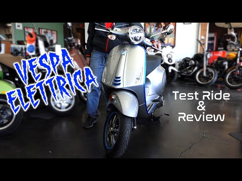 2020 Vespa Elettrica Test Ride & Review