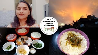 Indian Mom Saturday Dinner Routine || Onion Curd Rice Recipe