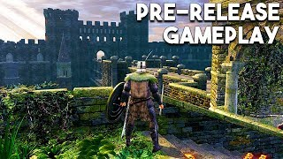 Dark Souls REMASTERED NEW PS4 GAMEPLAY - 18 Minutes of Network Test Gameplay