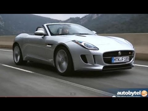 2014 Jaguar F Type V8 S Test Drive U0026 Convertible Sports Car Video Review