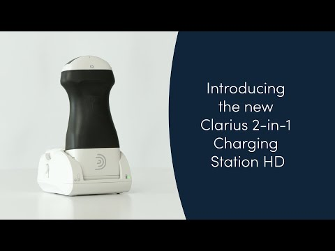 New 2-in-1 Charging Station Makes Clarius Wireless Scanners the World's Only Ultrasound Handheld with Continuous Battery Power