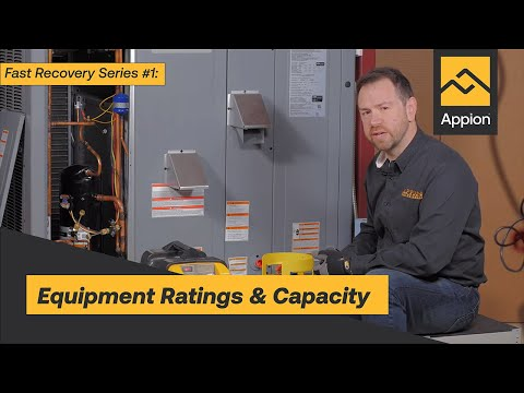 Fast Recovery #1: Equipment Ratings & Capacity