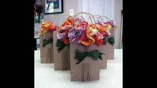 DECORAMOS  BOLSAS DE PAPEL CRAFT