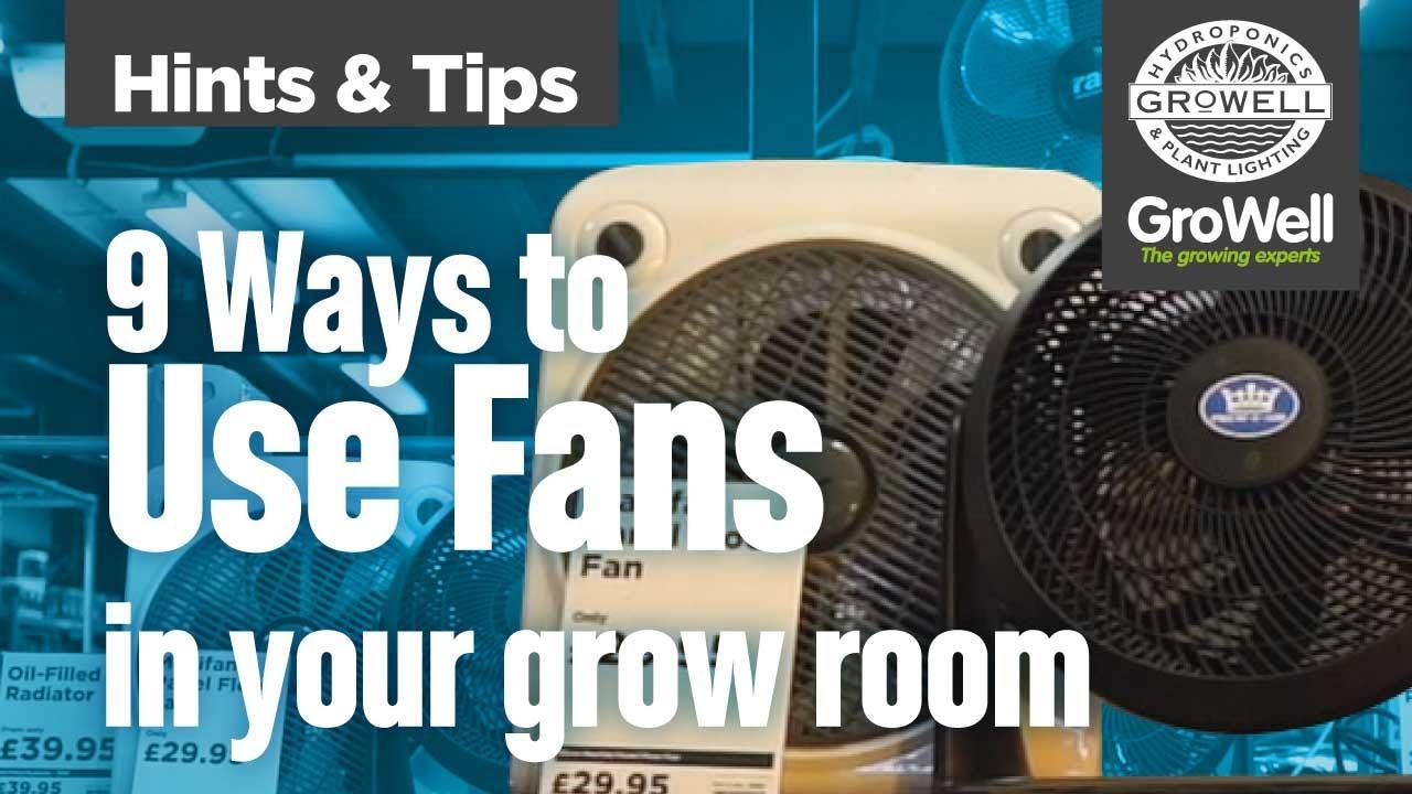 grow tent oscillating fan