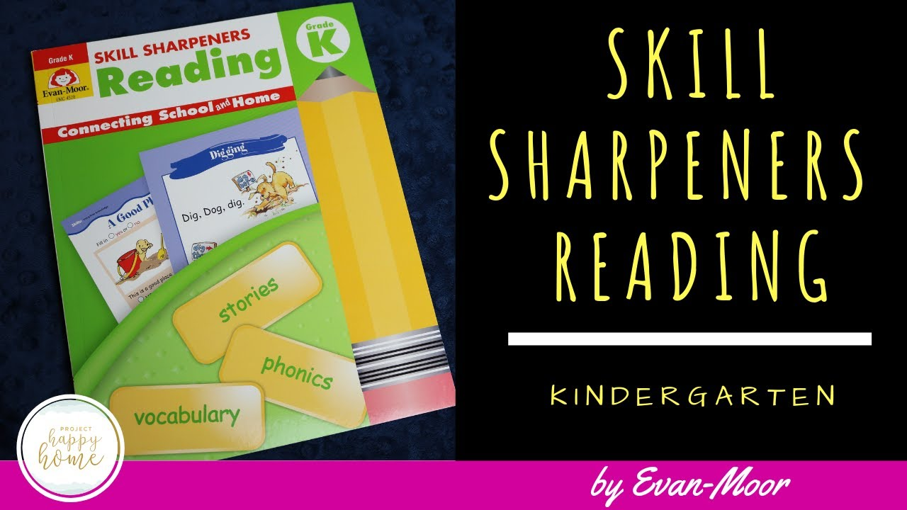 EVAN-MOOR SKILL SHARPENERS READING GRADE K || Kindergarten Homeschool  Reading Curriculum