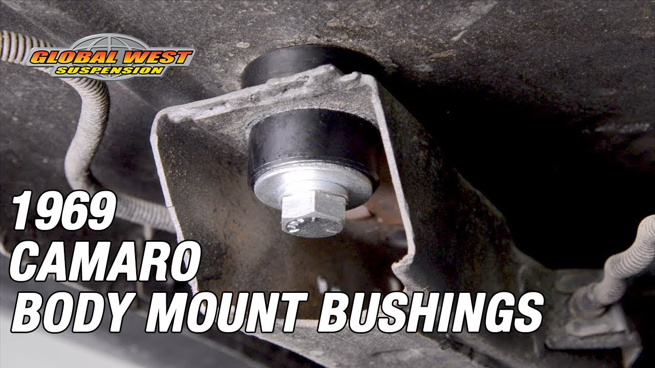 How To Install Global West Interloc Body Mount Bushings On
