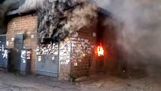 ГОРИТ ТРАНСФОРМАТОР 1000 кВА(Перегрузка электрических сетей приводит к пожарам., 2015-01-29T22:05:07.000Z)